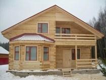 Строительство домов из бруса в Жигулевске. Нами выполняется строительство домов из бруса, бревен в городе Жигулевск и пригороде